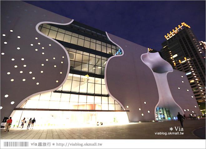 【大都會歌劇院】台中國家歌劇院~夜間水舞篇。光舞紀/光影藝術節3