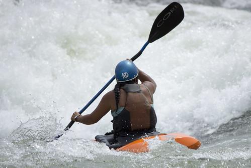 Kayaking the Nile