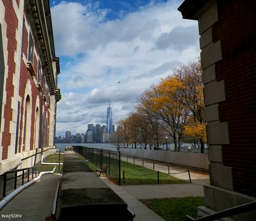 NYC from Ellis Island