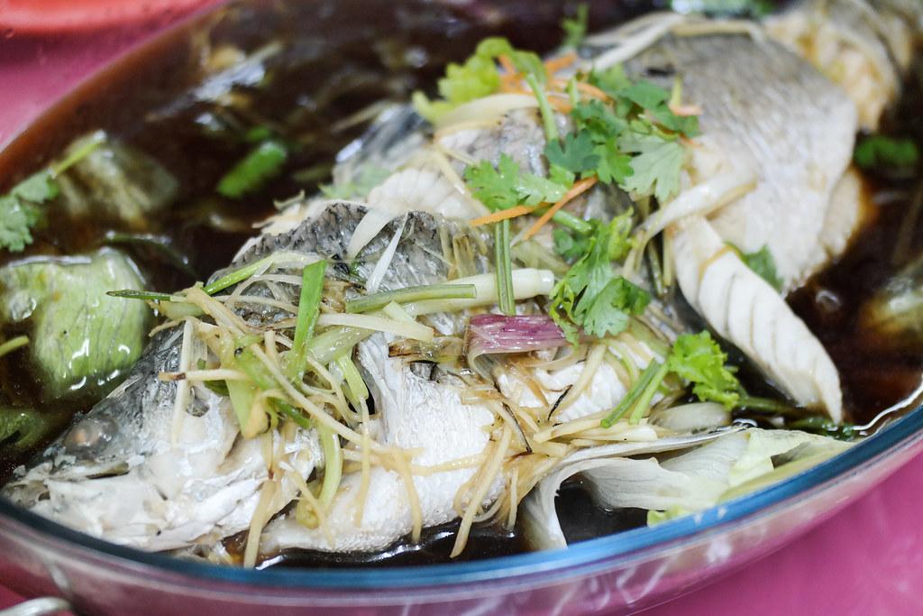 Ban Leong Wah Hoe Seafood's Hong Kong-style steamed soon hock