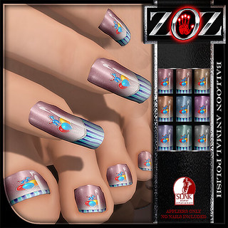 -{ZOZ}- Balloon Animal Polish