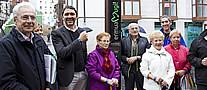 Personas que han tomado parte en la inauguraci�n del proyecto 'Hiribili'
