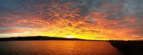 panorama sunrise t berkeleymarina césarchávezpark