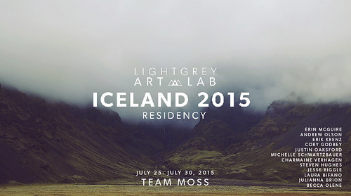 Team Moss - ICELAND 2015 Residency Program