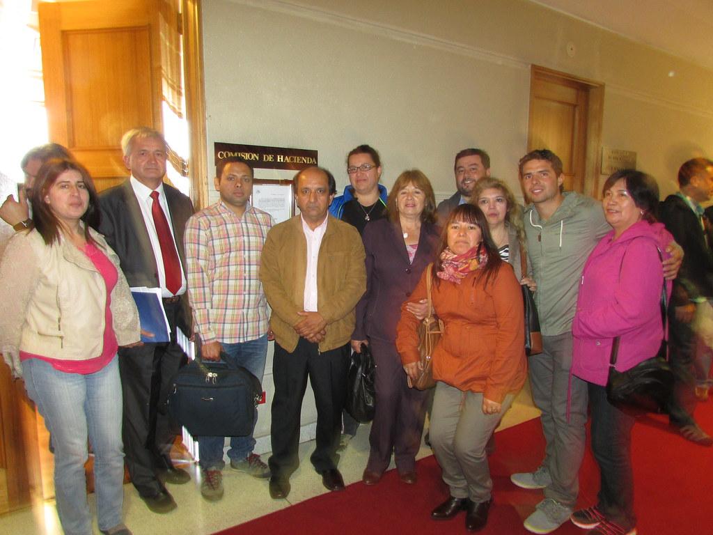 Dirigentes Regionales AFSAG en el Congreso Nacional