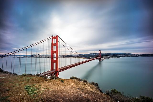 The Golden Gate bridge, San Francisco, United States