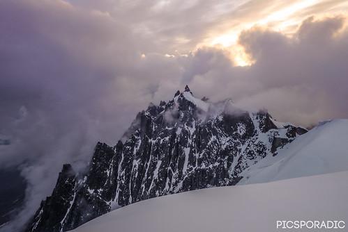 france alps climbing chamonix alpineclimbing midiplanridge