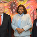 Secretary General Meets with President of the IDB and Director of PAHO