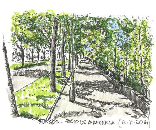 Paseo de la sierra de Atapuerca. Burgos