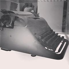 La máquina de escribir que usó Lanata en Pagina/12