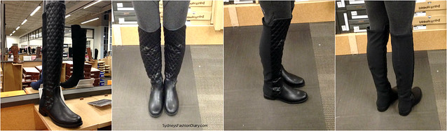 Unisa quilted boots