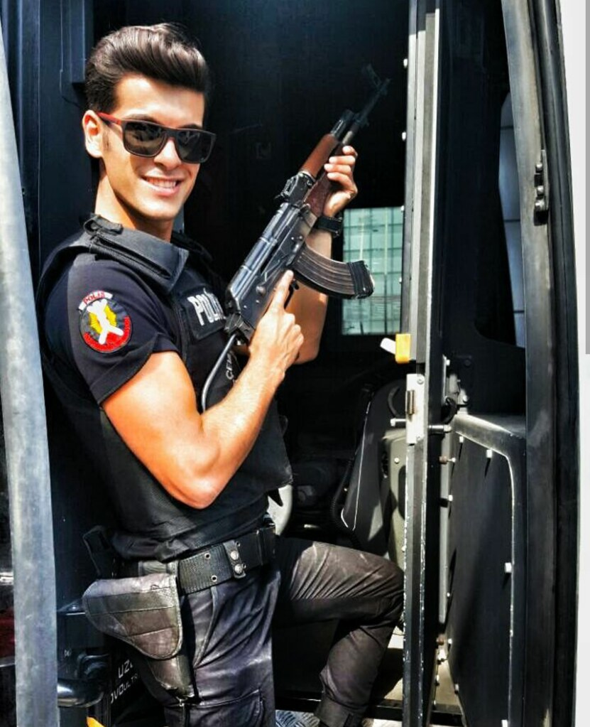 Sexy guys in uniform