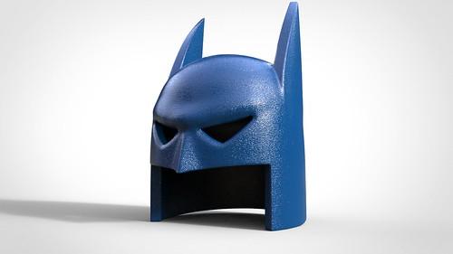 Animated Bat Cowl