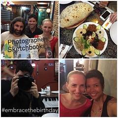 Love spending pre birthday with my besties. Love you guys. @davecaleb @klbeasley @intrepidteacher #nourish #embraceitall