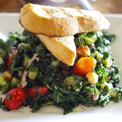 BBQ Kale Salad