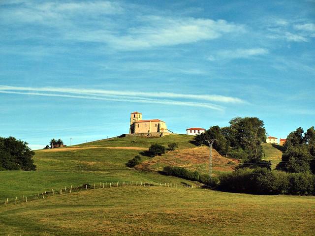 Church on a hill Spain140