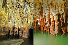 Macedonia, Drama, Angitis river source, Maaras cave stalagmites, Greece #Μacedonia