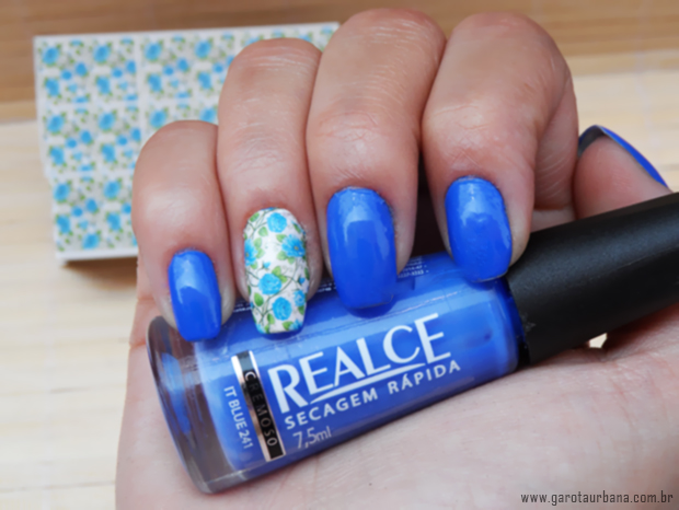 Esmalte It Blue Realce  e pel�cula Esmalte Bonito 3