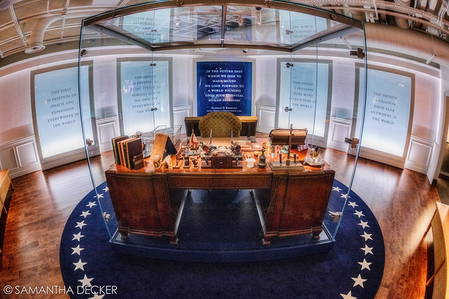 FDR's Desk (Fisheye)