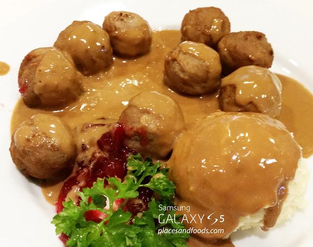 ikea restaurant swedish meat balls