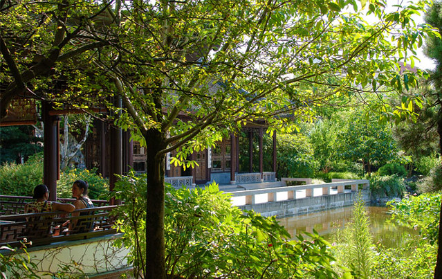 Lan Su Chinese Garden (by: Robin Wilcox, courtesy of ASLA)