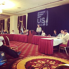 The US Sailing National Convention is wrapping up with a Board of Directors meeting. #sailing #ussailing