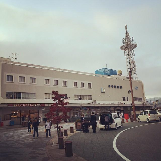 伊予西条駅。