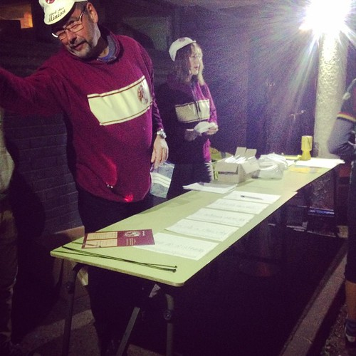 Signing up for the #SCDNR2014 #night #urban