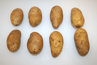 02 - Zutat Kartoffeln / Ingredient potatoes