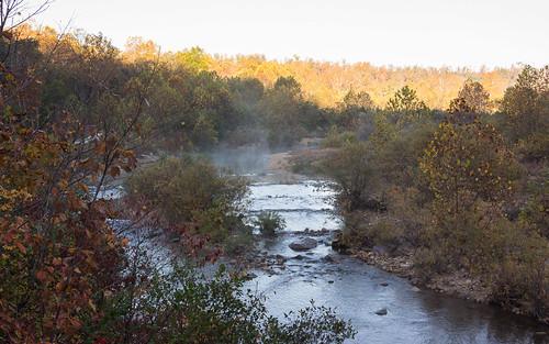 morning autumn light shadow fall water contrast sunrise river october rocks outdoor hiking blackriver southernmissouri johnsonsshutins stfrancoismountains