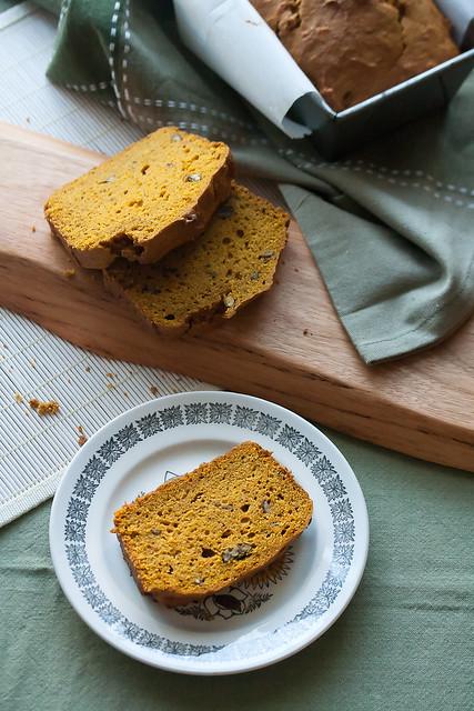 Pumpkin-Pecan Loaf