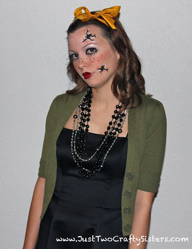 Halloween Broken doll costume