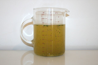 09 - Zutat Gemüsebrühe / Ingredient vegetable stock