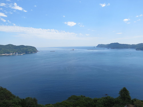 View across Kamaishi Bay