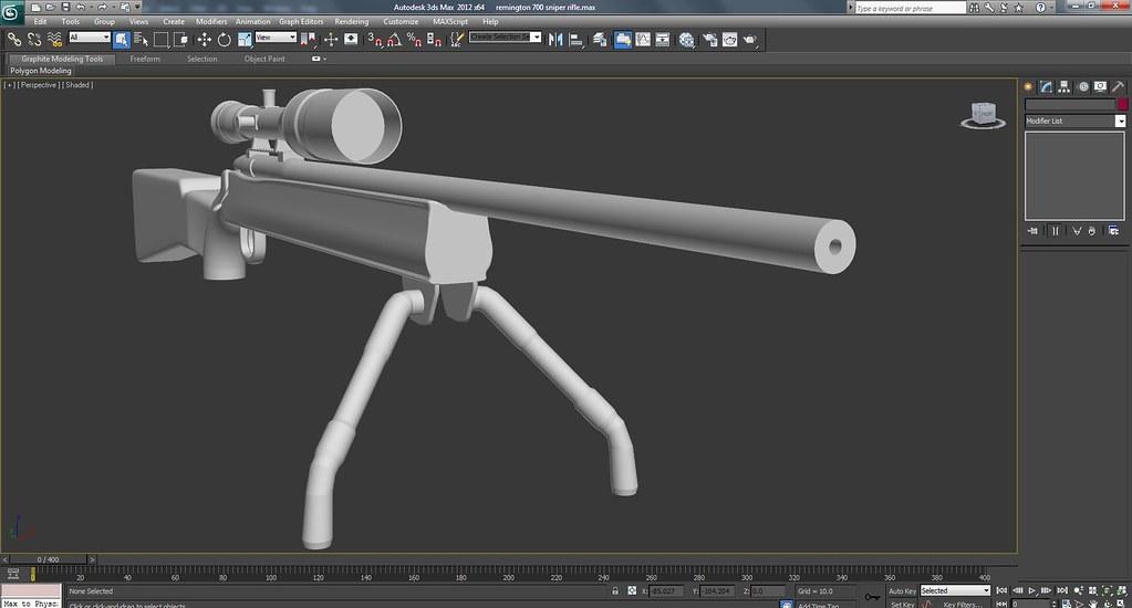 Remington 700 Sniper Rifle Work In Progress Screenshots
