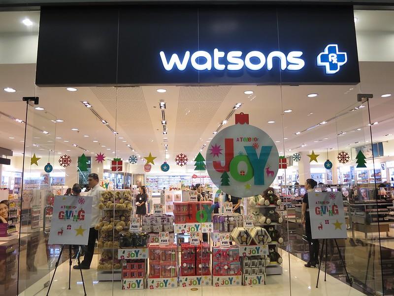 Watsons 3-day sale