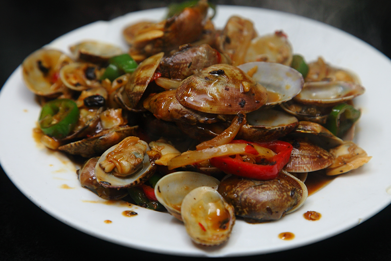 Stir-Fried-Clams