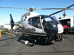 Sacramento County Sheriff Helicopter