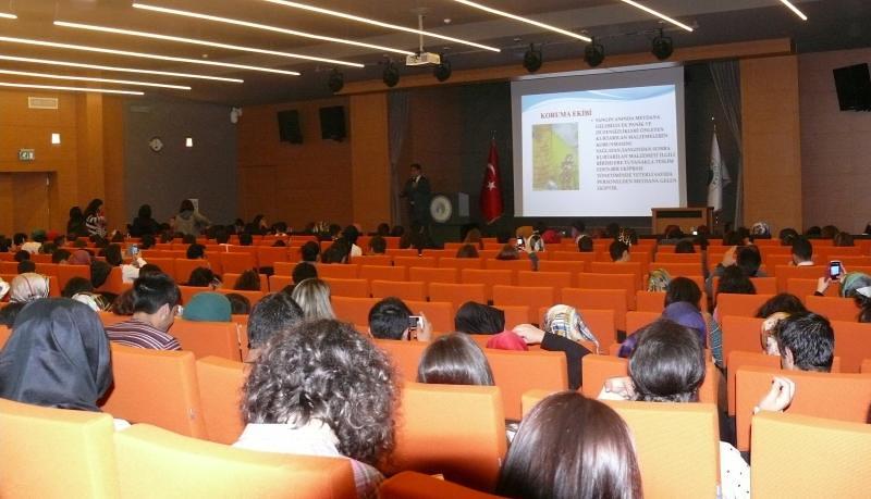 Üsküdar Üniversitesi'nde Yangın Yönetimi Konferansı gerçekleştirildi. 2