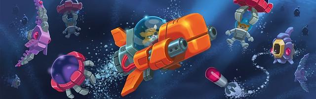 Aqua Kitty -- Milk Mine Defender DX