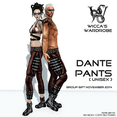 Wicca\'s Wardrobe - Dante Pants [Group Gift November] Vendor