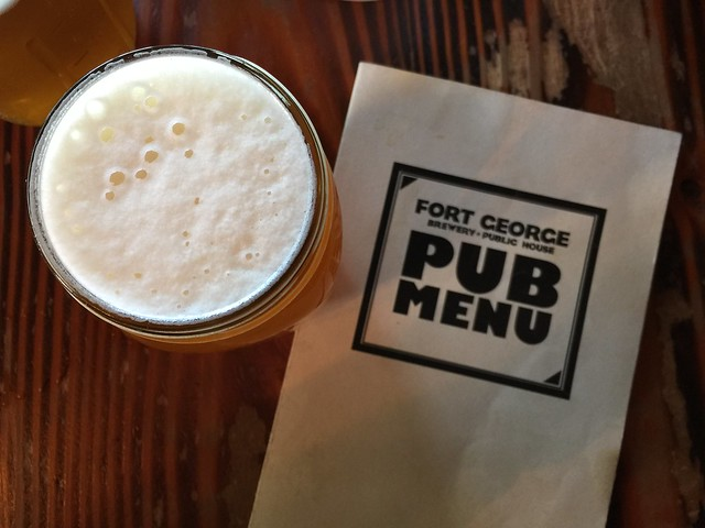 Lunch at Fort George Brewing