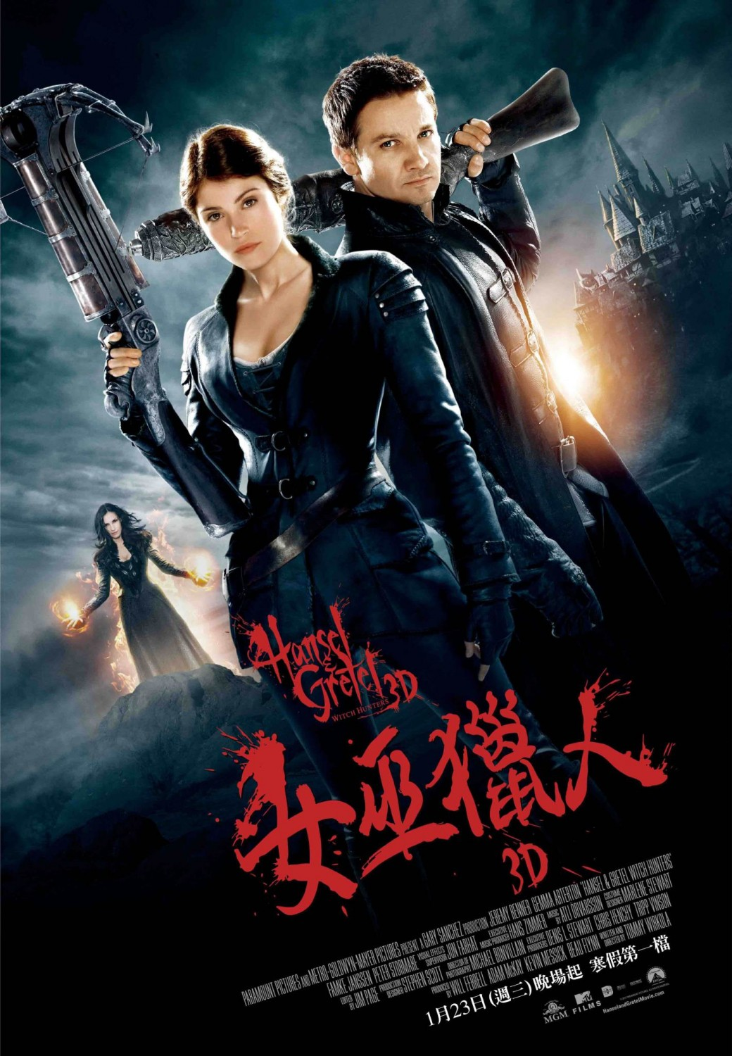 Hansel & Gretel - Witch Hunters (2013)
