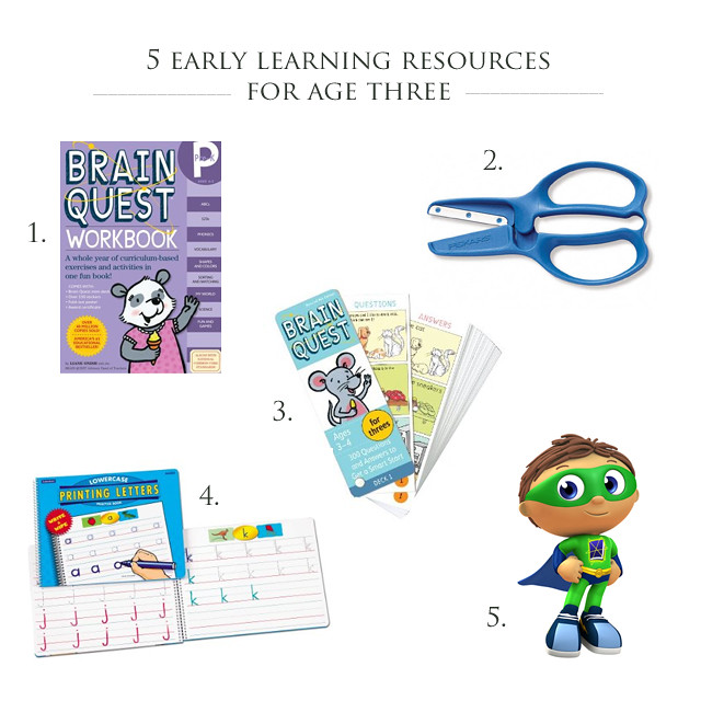 5 early learning resources I'm using for age three! | yourwishcake.com