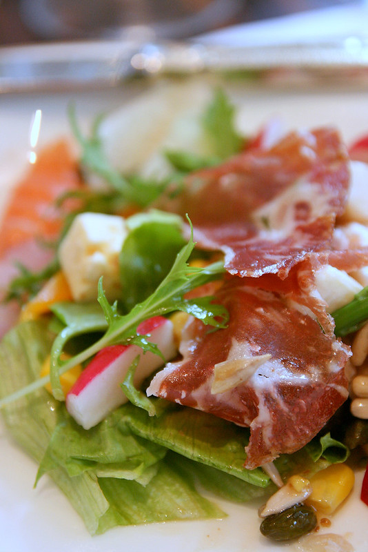 Make your own Jamon Salad!