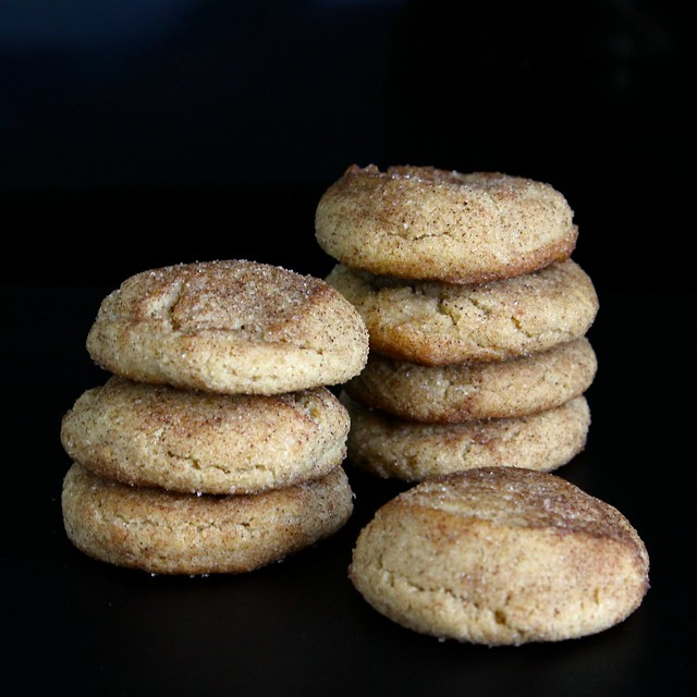 Autumn Spice Snickerdoodles