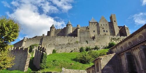 france unesco carcassonne worldheritagesites lacite medievalcity citemedievale comtalchateau