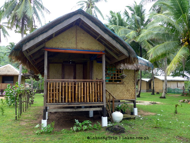 2 room bungalow at Jack's Place, Nacpan Beach, El Nido, Palawan, Philippines