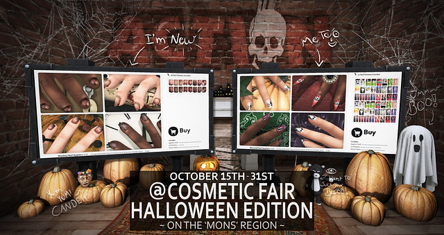 Action @ Cosmetic Fair Halloween Edition