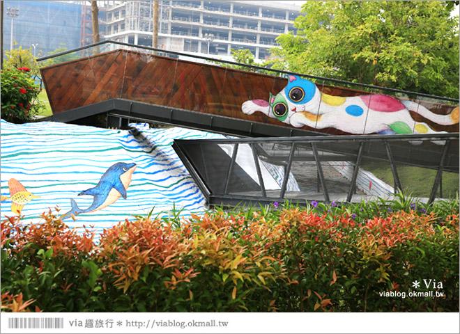 【南科幾米】台南|台積電南科幾米裝置藝術小公園~願望盛開‧許諾之地18